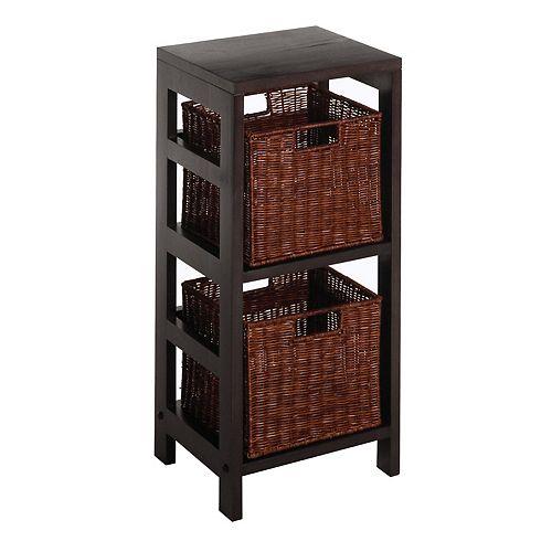 Winsome Leo 3-pc. Shelf Set