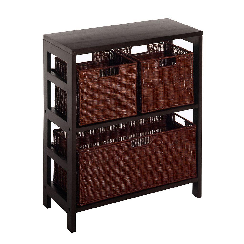 Winsome Leo 4-pc. Shelf Set