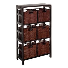 Winsome Leo 7-pc. Shelf Set