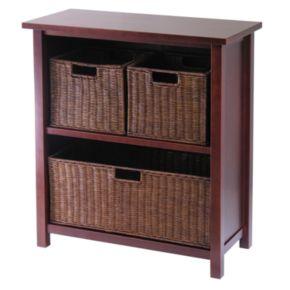Winsome Milan 4-pc. Shelf Set