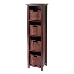 Winsome Milan 5-pc. Shelf Set