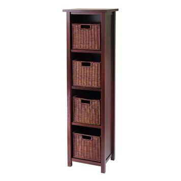 Winsome Milan 5-pc. Shelf Set