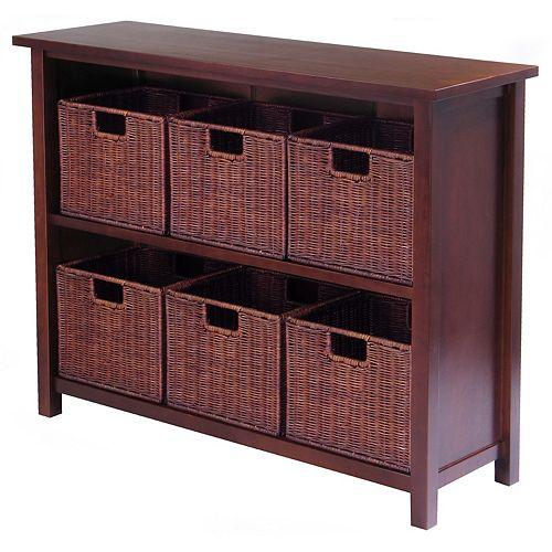 Winsome Milan 7-pc. Shelf Set