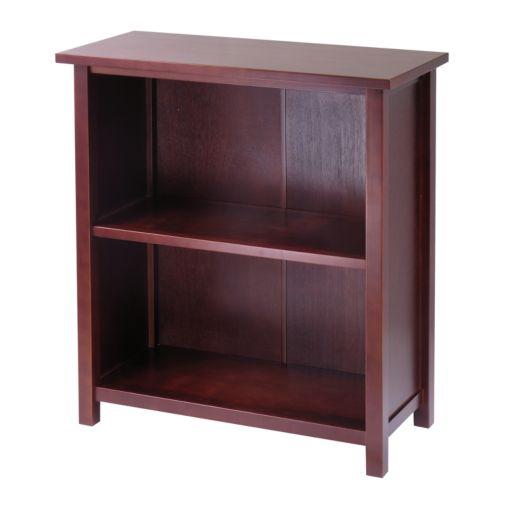 Winsome Milan Small 3-Tier Bookcase