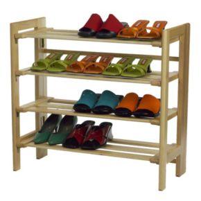 Winsome 4-Tier Shoe Rack