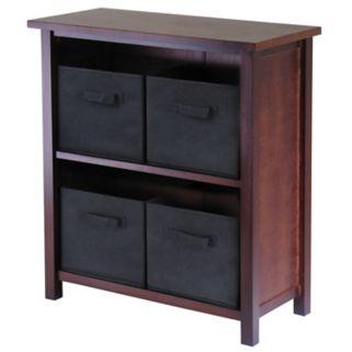 Winsome Verona 4-Bin Storage Shelf