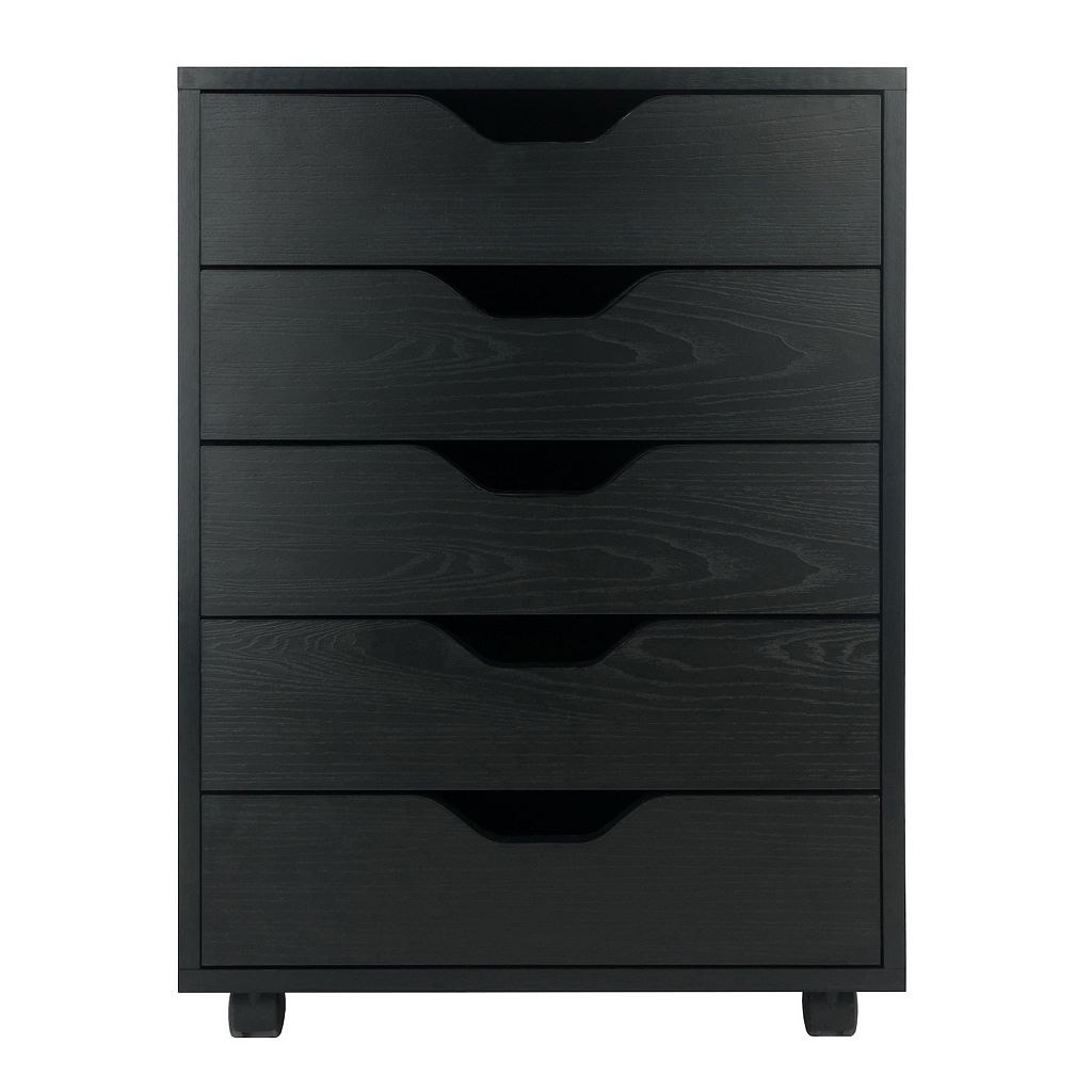 Winsome Halifax 5-Drawer Mobile File Cabinet