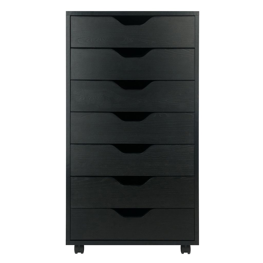 Winsome Halifax 7-Drawer Mobile File Cabinet