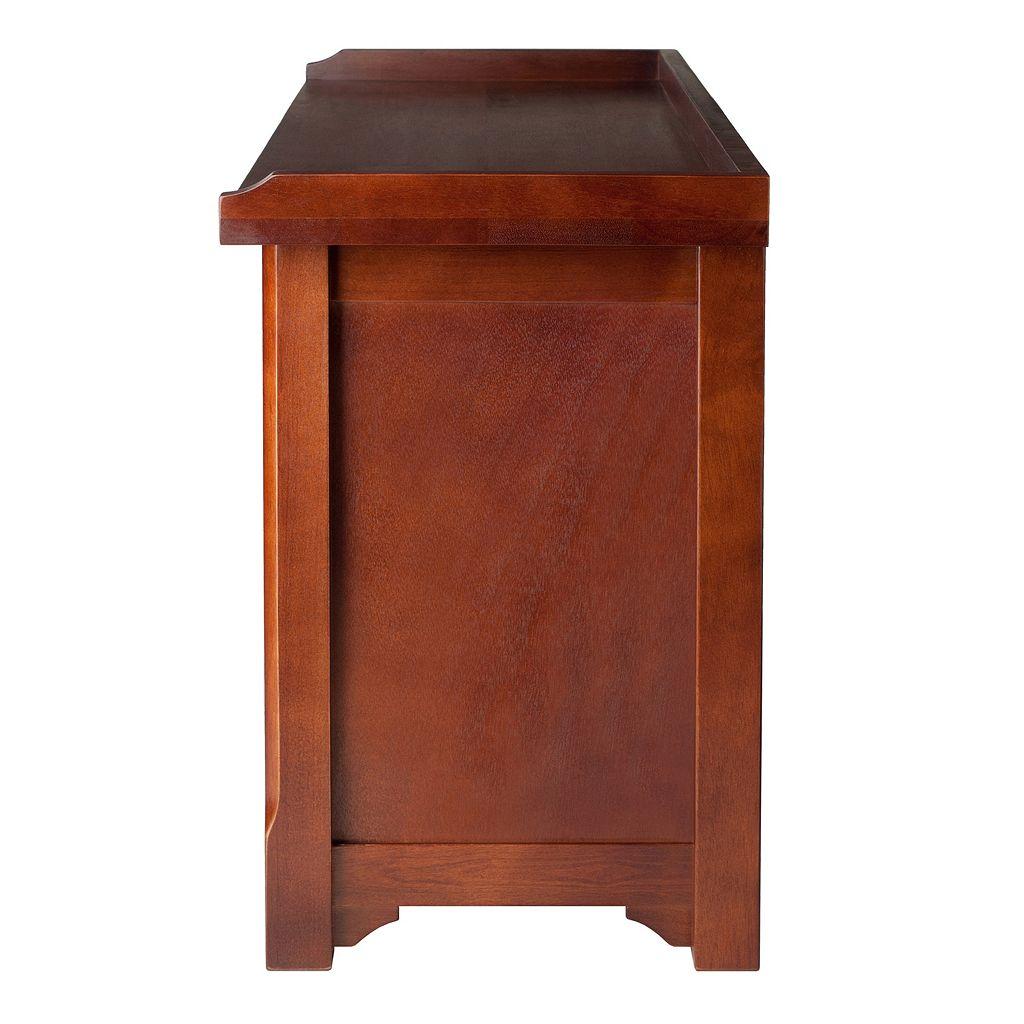 Winsome Verona 2-Tier Storage Bench