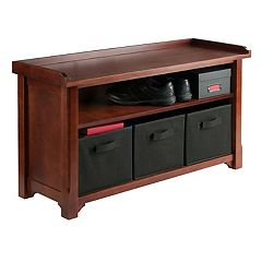Winsome Verona 2 tier Storage Bench