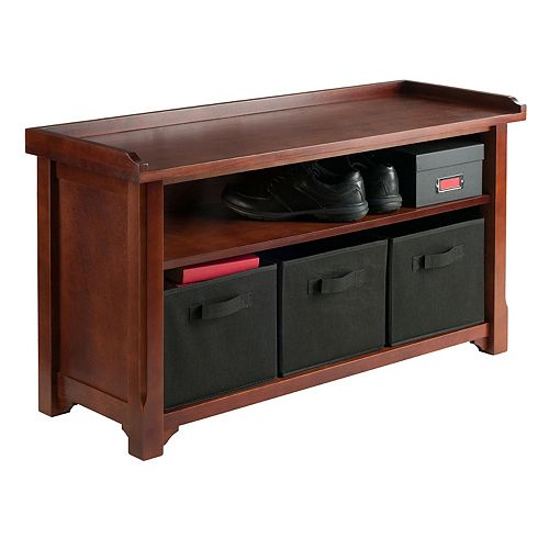 Winsome Verona 2-Tier Storage Bench