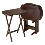 Winsome 5-pc. TV Tray Table Set
