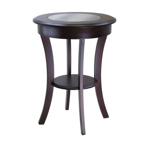 Winsome Cassie Round Accent Table