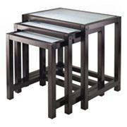 Winsome Copenhagen 3-pc. Nesting Table Set