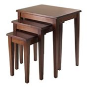 Winsome Regalia 3 pc Nesting Table Set