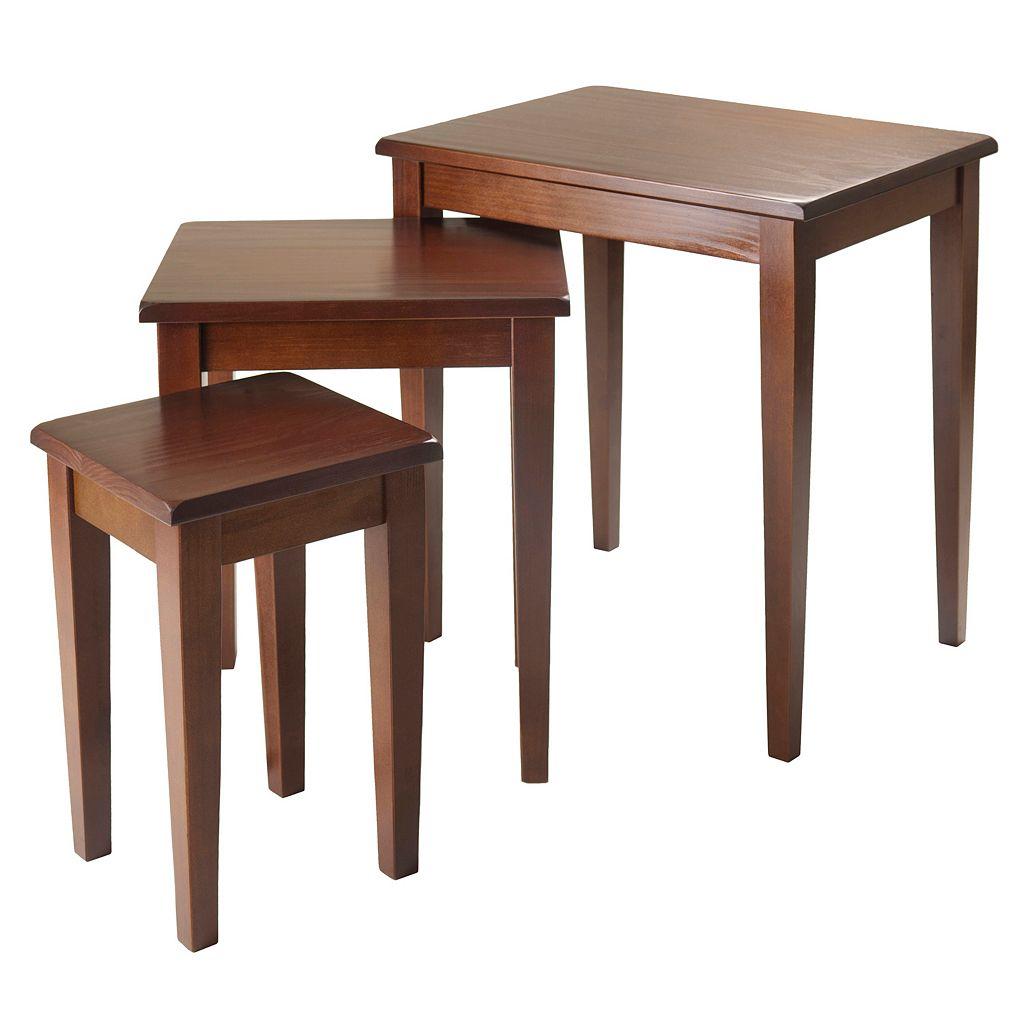 Winsome Regalia 3-pc. Nesting Table Set
