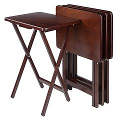 Winsome 4 pc TV Tray Table Set