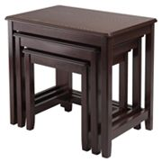 Winsome Trina 3-Piece Nesting Table Set