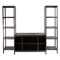 Winsome Hailey 3-pc. Entertainment Center