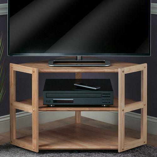 Winsome Derby Corner TV Stand