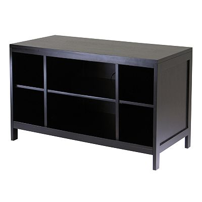 Winsome Hailey Open-Shelf TV Stand
