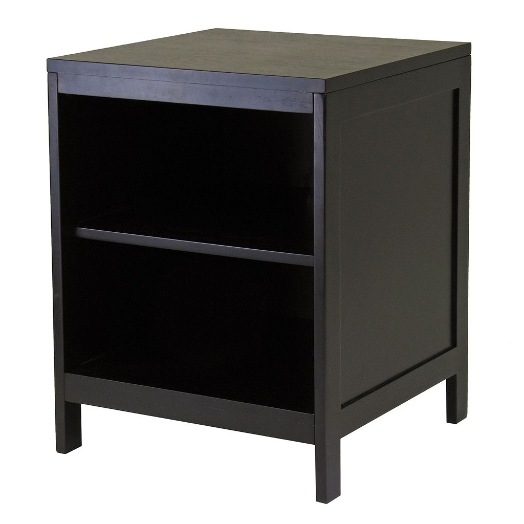 Winsome Hailey Open-Shelf Media Stand