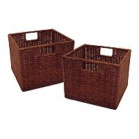 Winsome 2-pk. Leo Basket Set