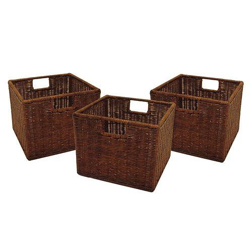 Winsome 3-pk. Leo Basket Set