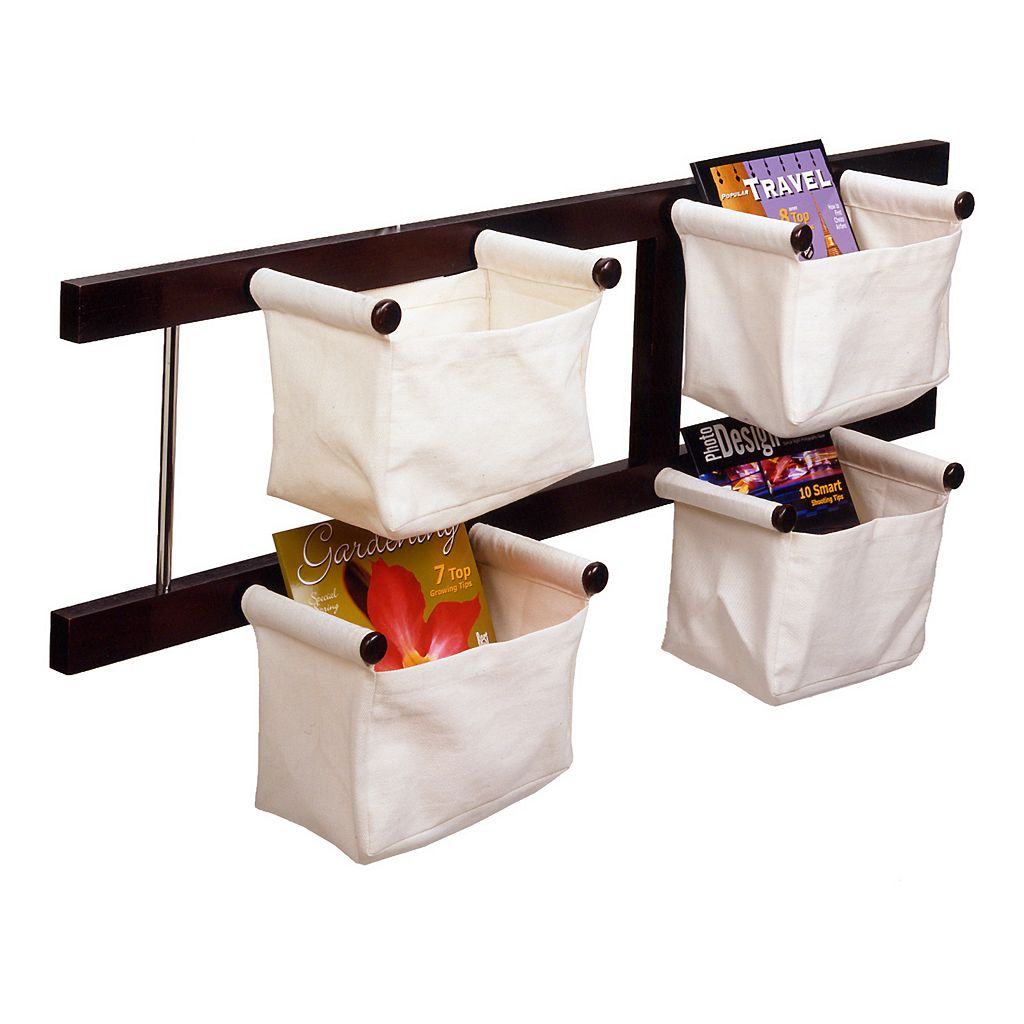 Winsome Storage And Magazine Rack