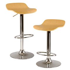 Winsome 2-pc. Kallie Swivel Bar Stool Set