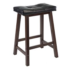 Winsome Mona Cushion Saddle Stool