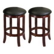 Winsome 2-pc. Swivel Stool Set