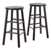 Winsome 24-inch Bevel Seat Stool Set