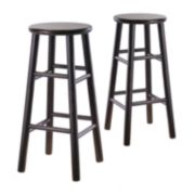 Winsome 30-inch Bevel Seat Stool Set