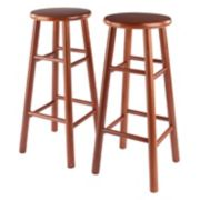 Winsome Cherry Finish 2-pc. Stool Set
