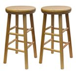 Winsome 2-pc. Swivel Counter Stool Set