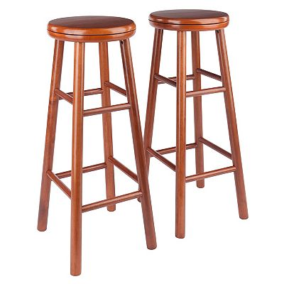 Winsome 2-pc. Swivel Bar Stool Set