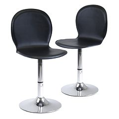 Winsome 2 pc Spectrum Swivel Bar Stool Set