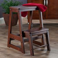 Winsome 2 pc Double Step Stool Set