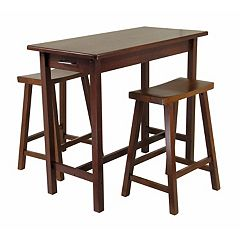Winsome Kitchen Island 3-piece Set