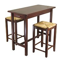Winsome 3 pc Kitchen Island Set