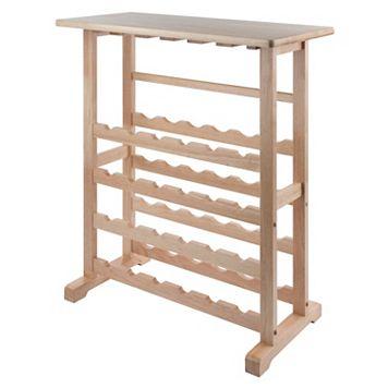 Winsome 24-Bottle Wine Rack