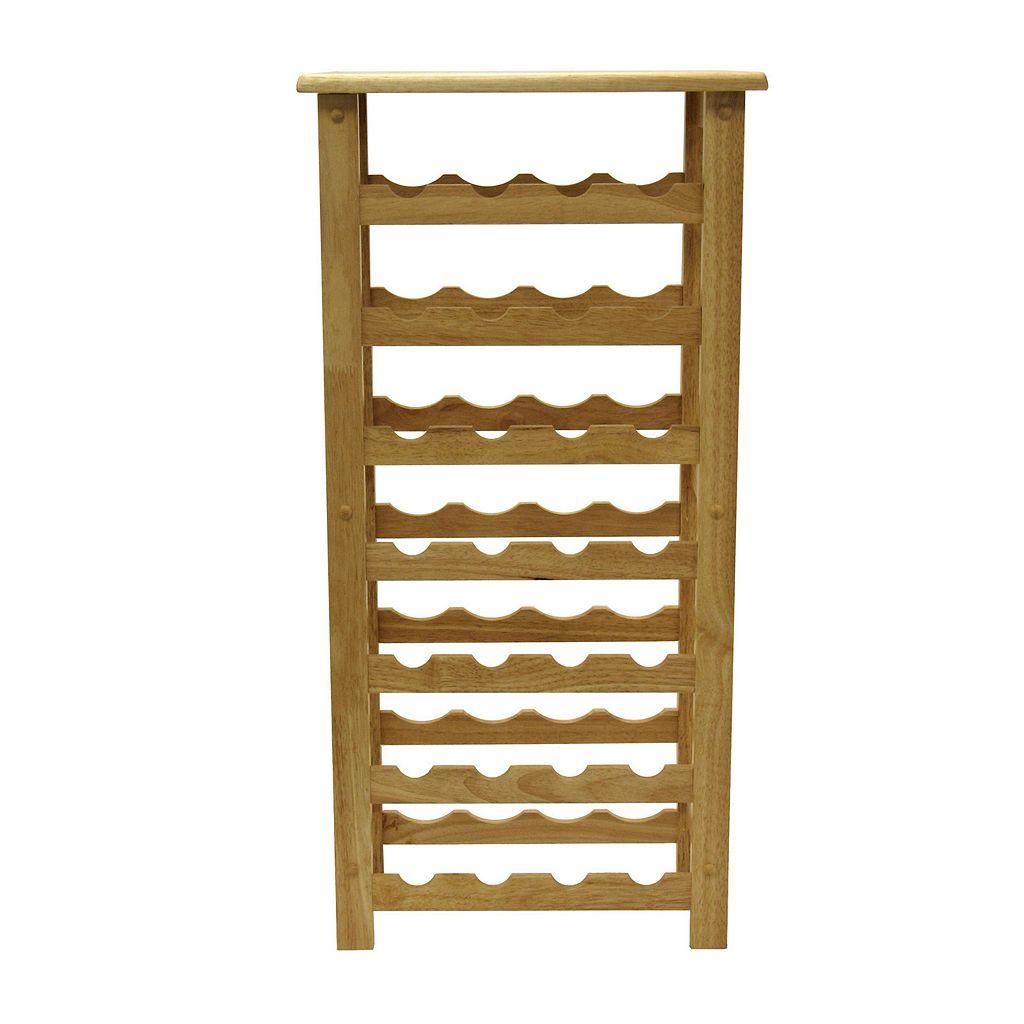 Winsome 28-Bottle Wine Rack