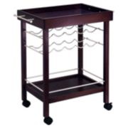 Winsome Bar Cart Wine Rack