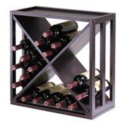 Winsome Kingston X-Cube 24-Bottle Wine Rack