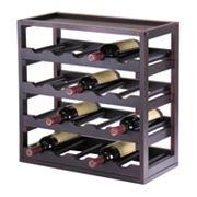 Winsome Kingston 20-Bottle Wine Cube