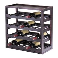 Winsome Kingston 20-Bottle Wine Cube