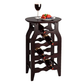 Winsome 8-Bottle Wine Rack