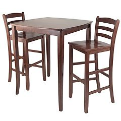 Winsome Inglewood 3 pc Pub Dining Table Set