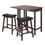 Winsome Lynnwood 3-pc. Kitchen Table Set